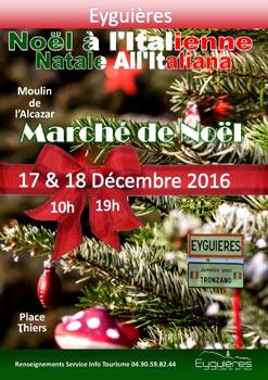 Marché de Noël Italien à Eyguières