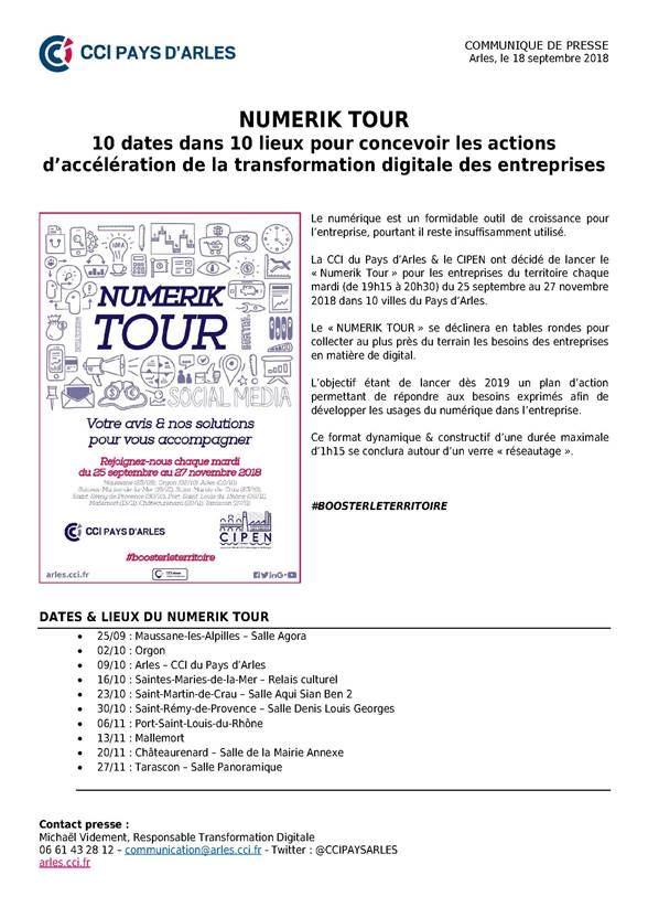 Numerik Tour 2018