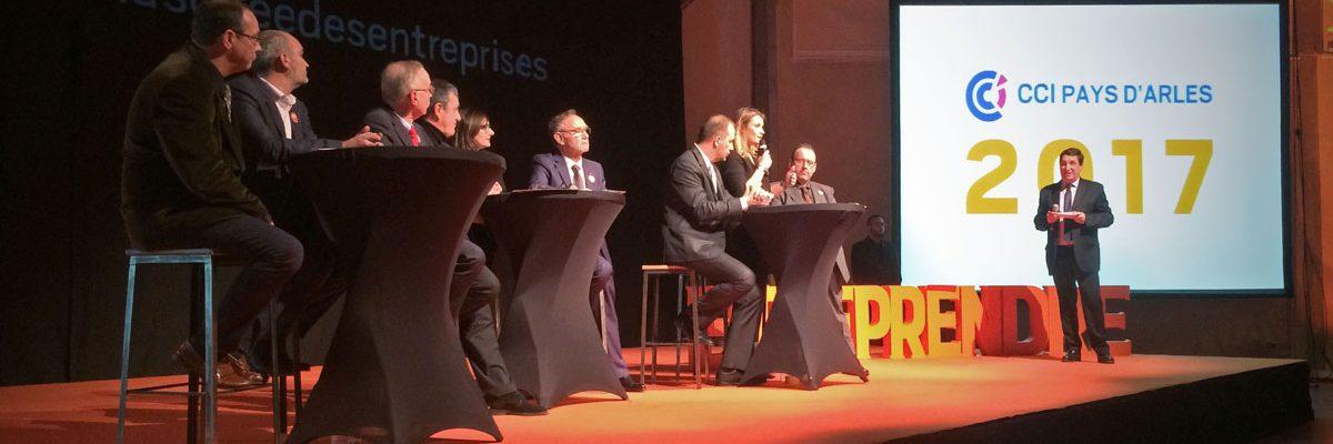 Soirée des Entreprises du 30 Janvier 2017 Arles