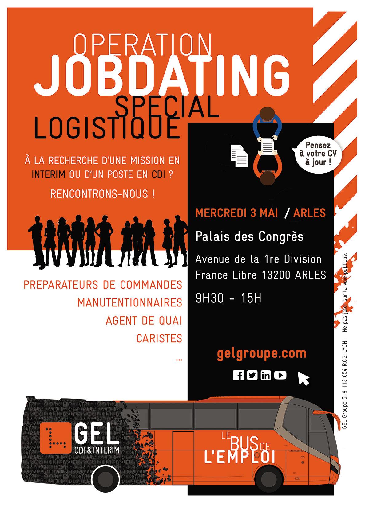 Opération Job dating le 3 mai à la CCI du Pays d'Arles