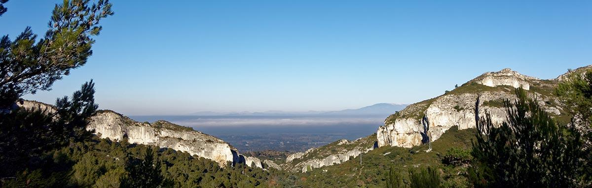 Les Alpilles en Provence