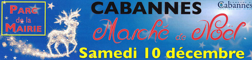 Marché de Noël à Cabannes en 2016