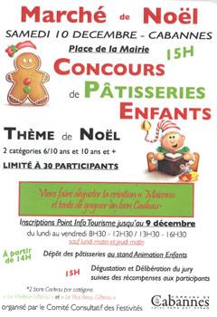 Marché de Noël à Cabannes
