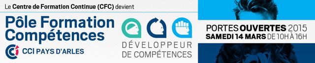 Pôle Formation Compétences Arles