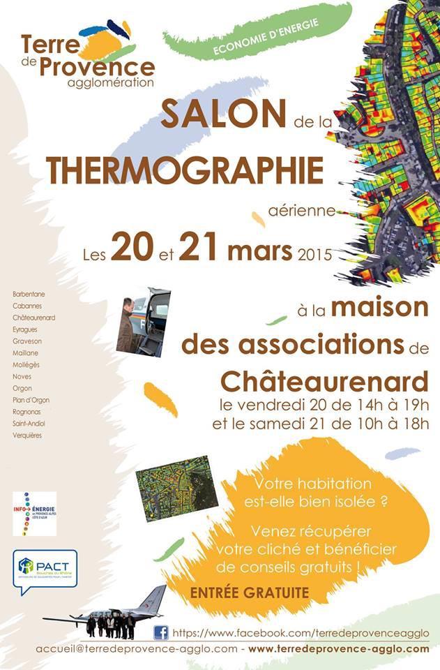 Salon de la thermographie à Châteaurenard