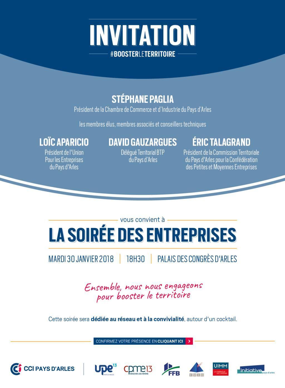 Soirée des Entreprises Arles