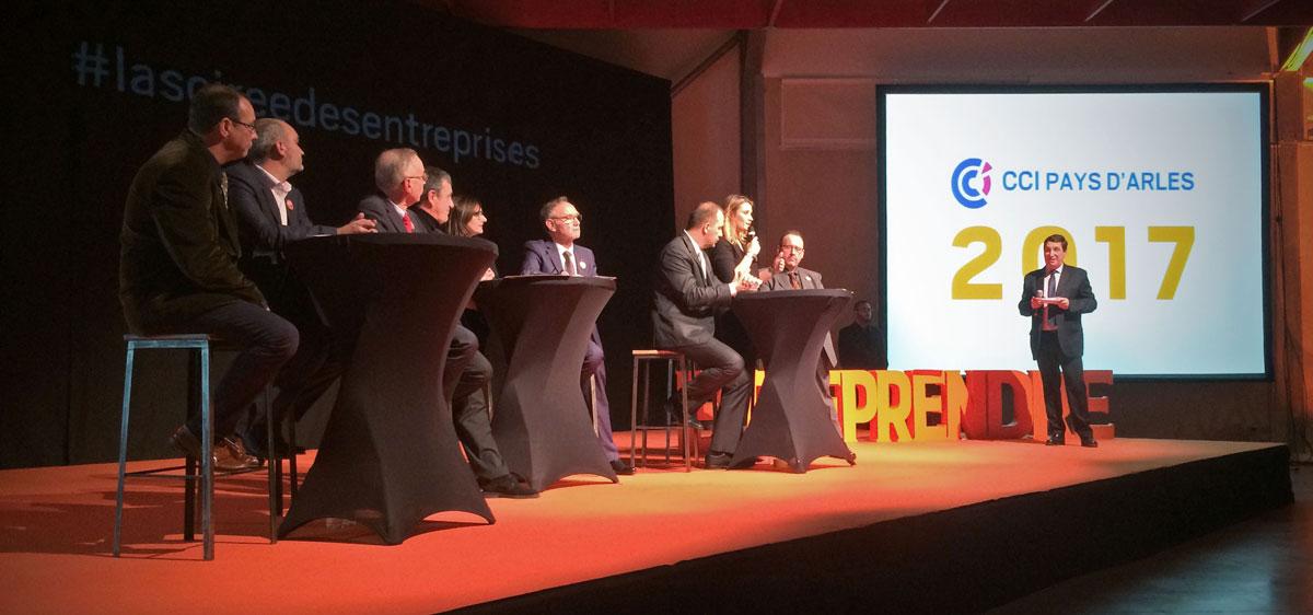 Soirée des Entreprises, lundi 30 janvier à 18h30 au Palais des Congrès d'Arles